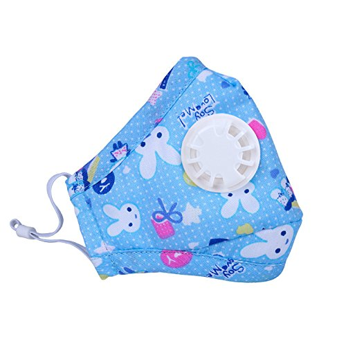 ligart kids anti pollution mask with activated carbon n95