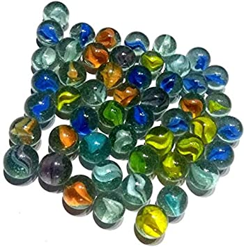 100 New Lot Colourful Marbles Toy Game Present FREE S//H