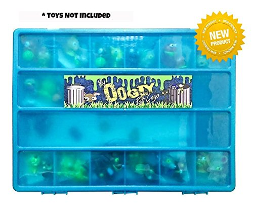 The Ugglys Pet Shop Compatible Organizer - My Oogly Pet Cage is The Perfect Ugglys Pet Shop toy figure Compatible Storage Box - Fits Up To 180 Characters, - Sturdy Case And Carrying Handle-