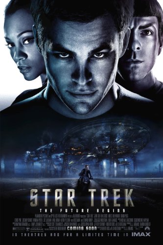Star Trek into Darkness Movie Poster 24x36 inches Chris Pine
