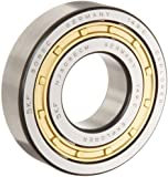 SKF Cylindrical Roller Bearing, Straight Bore, Removable Inner Ring, Flanged, Straight Bore, High Capacity, C3 Clearance, Brass Cage, Metric