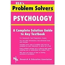 Psychology Problem Solver (Problem Solvers Solution Guides)