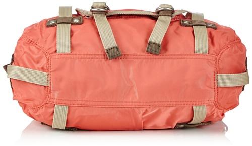 Sansibar Rio - Bolso de hombro de material sintético mujer naranja - Orange (coral)