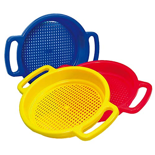 Spielstabil Large Sand Sieve (Made in Germany) - Sold Individually - Colors ()