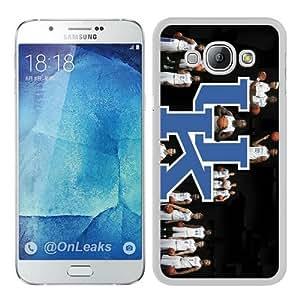 Fashionable design Kentucky Wildcats basketball White Samsung Galaxy A8 Case Cover