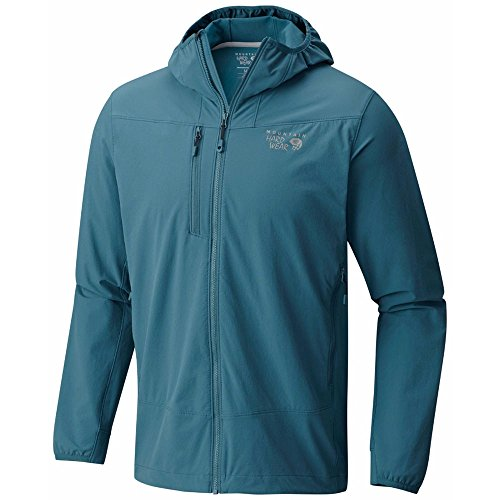 Mountain Hardwear Men Super Chockstone Hooded Jacket 336-Cloudburst Blue XL