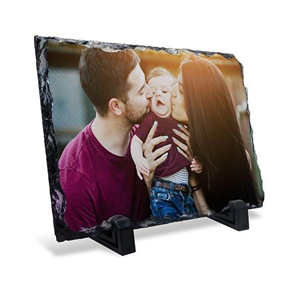 LolaPix Portafotos Rectangular Personalizado. Regalos Personalizados con Foto. Soporte de Fotos. Varios Tamaños y Formas… 2