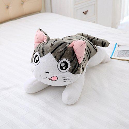 AYQX Plüschtier süße Katze Puppe Kätzchen Plüschtier große Katze Kissen Puppe Puppe Puppe Freundin Geburtstagsgeschenk E 1,2 m A 1 meter