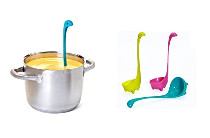 Design amici mestolo Nessie Mestolo cucchiaio cucchiaio da zuppa ...
