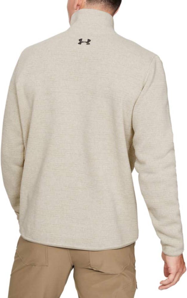 Under Armour Mens SweaterFleece Henley Top