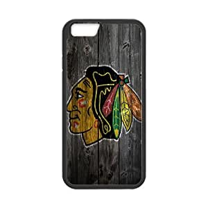 """Qxhu Blackhawks patterns Protective Snap On Hard Plastic Case for Iphone6 4.7"""""""