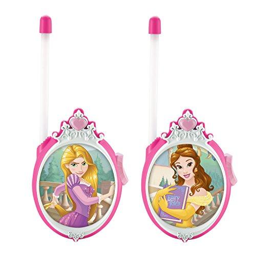 Disney Princess Walkie Talkies for Kids Static Free Extended Range Kid Friendly Easy to Use 2 Way Walkie Talkies