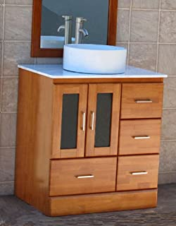 Comfortable Kitchen Bath And Beyond Tampa Small Cleaning Bathroom With Bleach And Water Square Bathroom Faucets Lowes Bathroom Vanities Toronto Canada Young Bathroom Expo Nj OrangeTiled Bathroom Shower Photos 30\u0026quot; Bathroom Vanity Wall Mount Solid Wood Cabinet Ceramic Top Sink ..