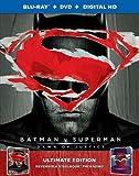 Batman vs Superman Exclusive Ultimate Reversible Steelbook Packaging (Blu-ray+DVD+Digital HD) and Wonder Woman 4K Exclusive Steelbook (4K Ultra HD+Blu-Ray+Digital)