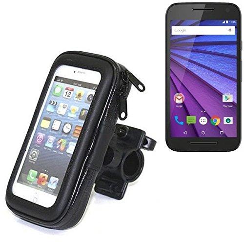 Für Motorola Moto G (3. Gen.) Fahrrad Halterung Handy Halterung Lenkstange Fahrrad Halter Motorrad Bike mount Smartphone Halter für Motorola Moto G (3. Gen.) Wasserabweisend, regensicher, spritzwasser
