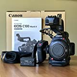 Canon EOS C100 Mark II Cinema EOS Camera with Dual Pixel CMOS AF (Body Only) (International Model) No Warranty