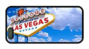 Hipster iphone 5 case personalize cases Welcome to Las Vegas TPU Black for Apple iPhone 5/5S