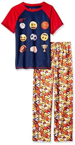 Emoji Sports Pajamas For Boys - Multiple Sizes