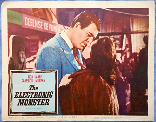 THE ELECTRONIC MONSTER 1960 Science Fiction LC #8 Rod Cameron Mary Murphy