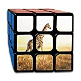 AVABAODAN Giraffe Long Neck Deer Rubik's Cube 3D Printed 3x3x3 Magic Square Puzzles Game Portable Toys-Anti Stress For Anti-anxiety Adults Kids