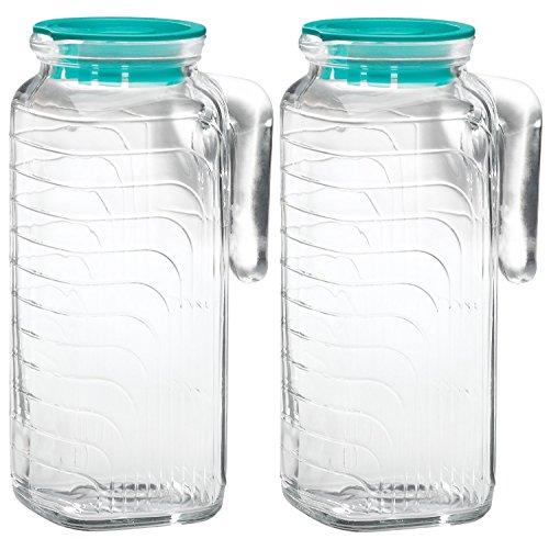 Bormioli Rocco Glass Liter Green