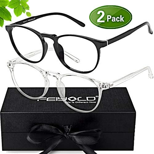 FEIYOLD Blocking Computer Eyestrain Transparent product image