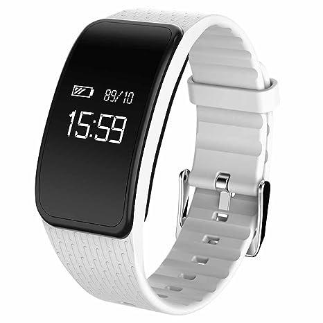 Nueva inteligente reloj Tensiómetro de medición Frecuencia Cardíaca Dormir Calidad Smart Pulsera HD gran pantalla led