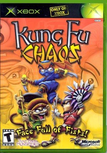Kung Fu Chaos Xbox product image