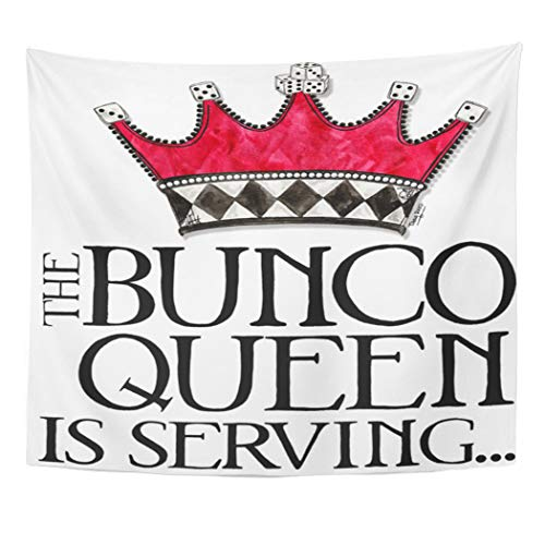 Semtomn Tapestry Artwork Wall Hanging Prize The Bunco