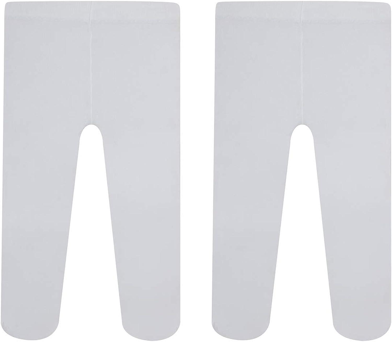 CALZITALY Medias Semi Opacas Para Bebe | Panty Para Recien Nacidos | 40 Den | Rosa, Blanco, Color Crema | 3, 6, 12, 18, 24 Meses | Calcetería Italiana |