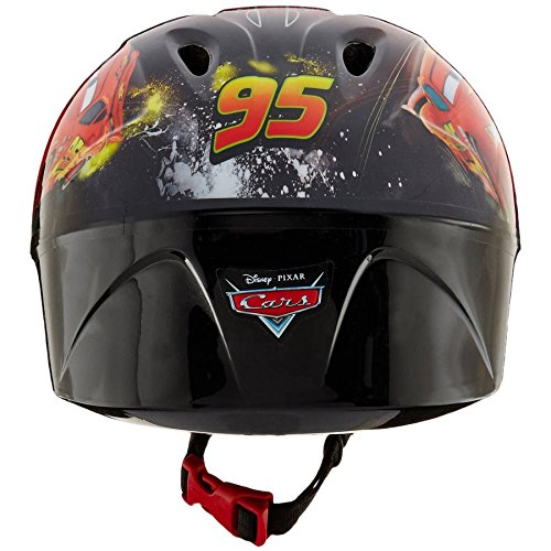 12 Inch Huffy Disney Pixar Cars Boys Kids for Boys with Sounds, Helmet and Cleaner Cloth by Huffy (Image #3)