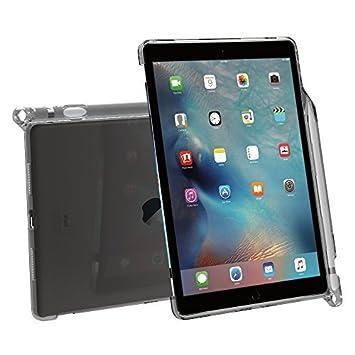 Funda iPad Pro 9,7, Poetic [Compatible con Teclado][Sujeción del lápiz] Estilizado con Funda de TPU para Apple iPad Pro de 9,7 (2016) con sujeción del ...