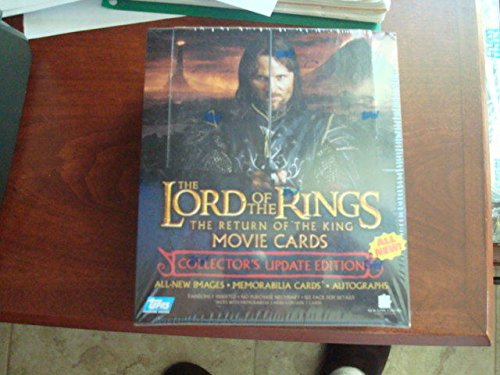 Lord of the Rings Return of the King Update Edition sealed Box