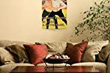 Wall Art Print entitled Reproduction Of A Poster Advertising A Wrestling T by The Fine Art Masters | 23 x 32