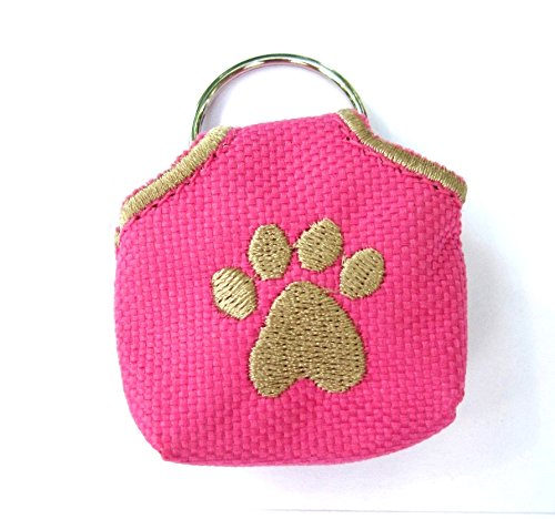Peace Tag (Pink) Dog/Pet Tag Silencer