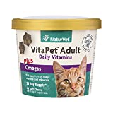 NaturVet VitaPet Adult Daily Vitamins Plus Omegas ...