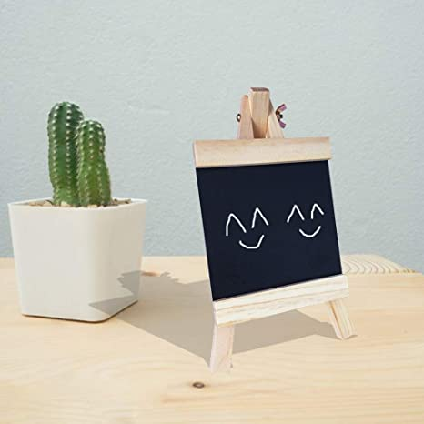 Amazon.com: HAOLIVE - Mini pizarra decorativa de madera ...