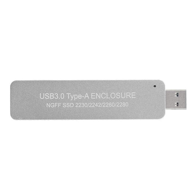 ASM1153E U portátil Tipo de Disco USB 3.0 Interfaz M.2 NGFF SSD ...