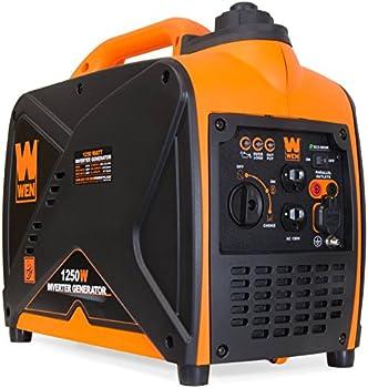 WEN 56125i 1250-Watt Gas-Powered Inverter Generator
