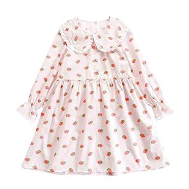 f693ee72913 Amazon.com  Packitcute Lolita Strawberry Dresses