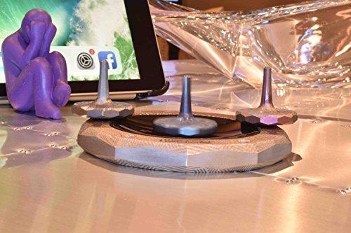 MetonBoss Peace Titanium Spinning Top - Aerospace Grade 5 Titanium (Anodized Golden Magenta) by MetonBoss (Image #7)