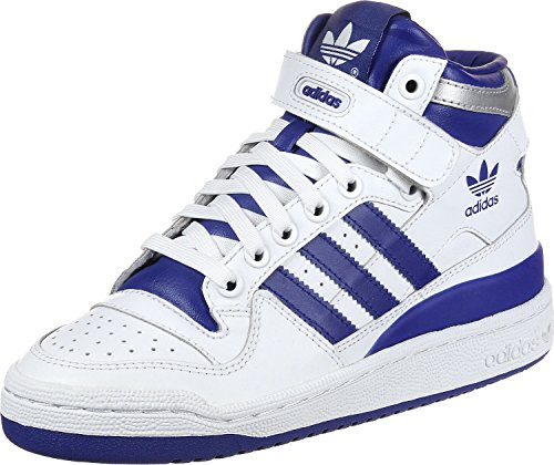adidas Forum Mid J W Schuhe Weiß Blau