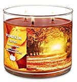 Bath and Body Works 3 Wick Scented Candle Pumpkin Clove 14.5 Ounce