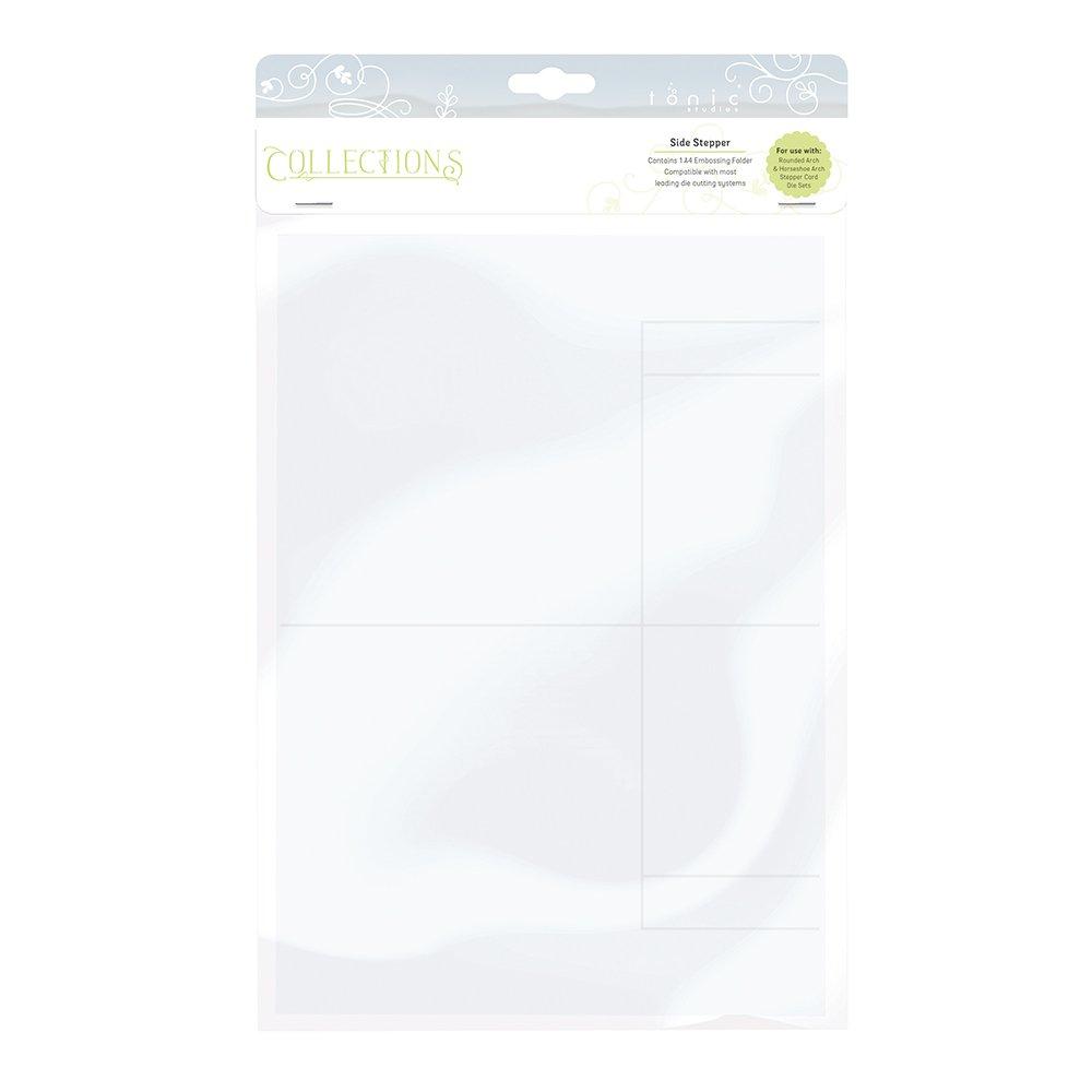 Tonic Studios Embossing Folder-Side Stepper, Grey, 36.5 x 23 x 1 cm 1426e