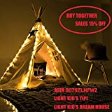 little dove New Design Kids Play Tent Indian Large Teepee Children Playhouse Children Play Room Large Teepee with a Dream Catcher