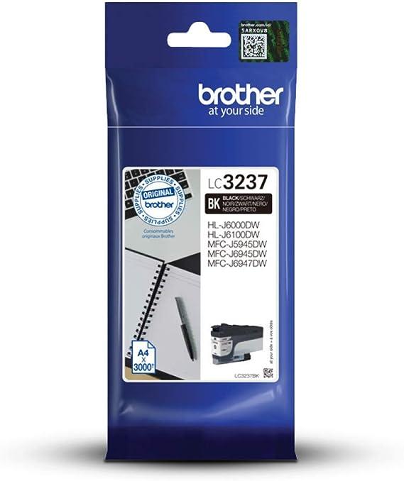 Brother Lc3237bk Tintenpatronen Standard Schwarz Bürobedarf Schreibwaren