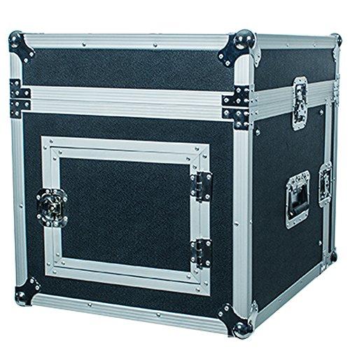 Seismic Audio - SAMRC-8U - 8 Space Rack Case with Slant Mixer Top - PA/DJ Pro Audio Road Case by Seismic Audio (Image #5)