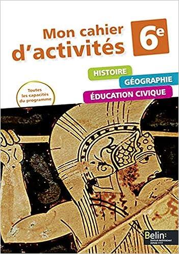 Amazon Fr Histoire Geographie Education Civique 6e Mon