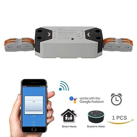 DDSKY Smart WiFi Switch, SmartLife APP Remote Control Switch