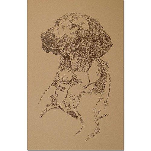 Kline Dog Lithograph - 4